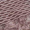 Toalla de baño visón con dibujo algodón 100%