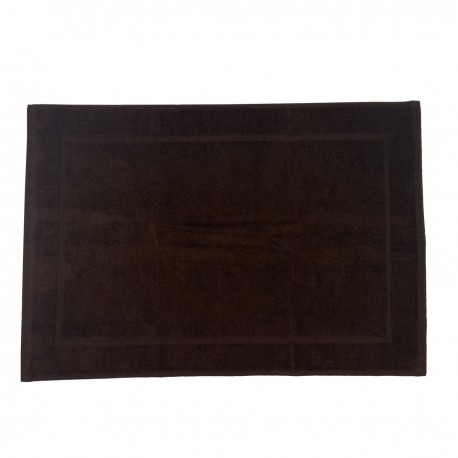 Chocolate bath mat made from 100% cotton