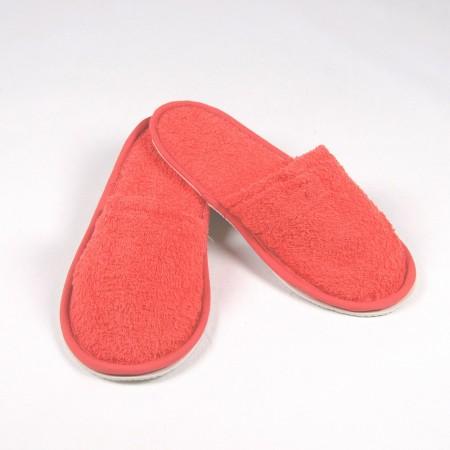 Zapatillas baño coral de rizo algodón 100%