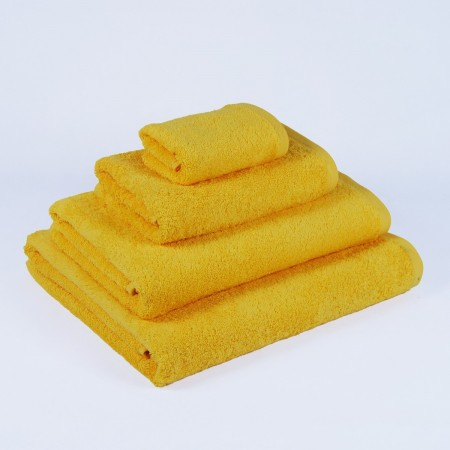 Yellow Bath Towel made from 100% cotton