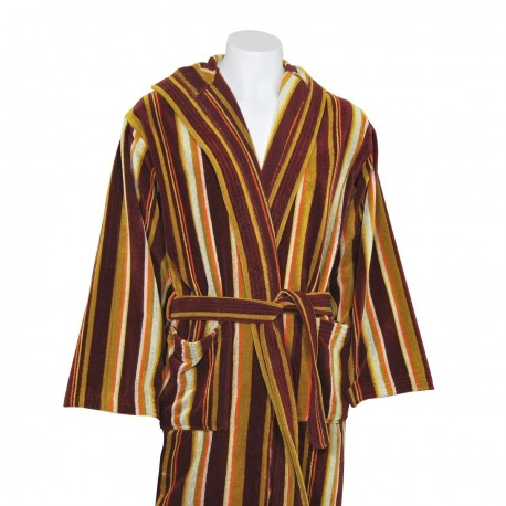 Brown Velour Bathrobe made from 100% cotton