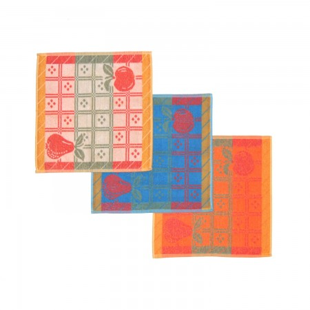 Set 3 kitchen towels from 100% cotton