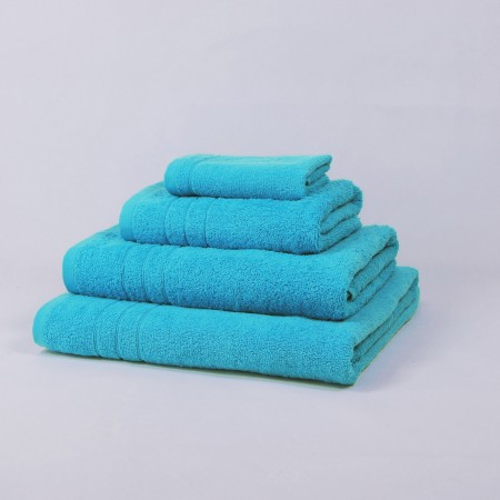 Turquoise blue Towel made from 100% cotton