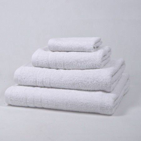 Serviette de bain blanche 100 % cotton