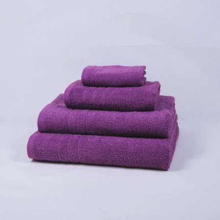 Serviette de bain violet 100 % cotton
