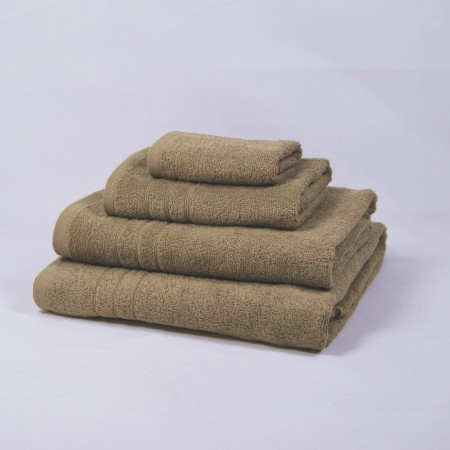 Serviette de bain beige 100 % cotton