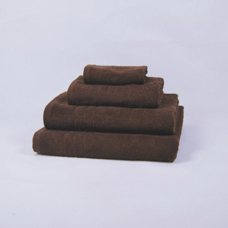 Serviette de bain chocolat 100 % cotton