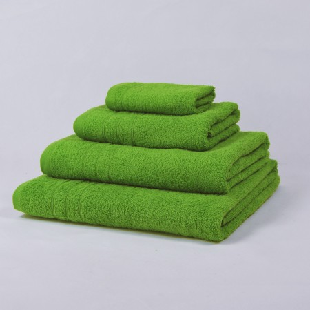Green Bath Towel made from 100% cotton