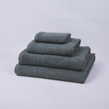 Serviette de bain gris 100 % cotton