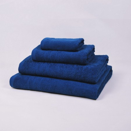 Blue Bath Towel made from 100% cotton