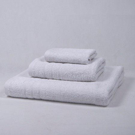 White Towel Set made from 100% cotton