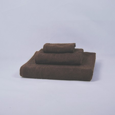Chocolate towels set made from 100% cotton