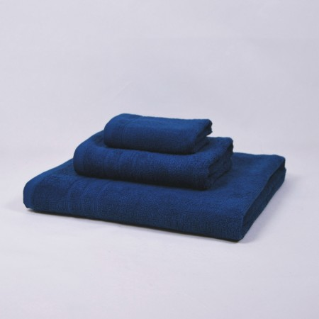 Nautical blue towels set made from 100% cotton