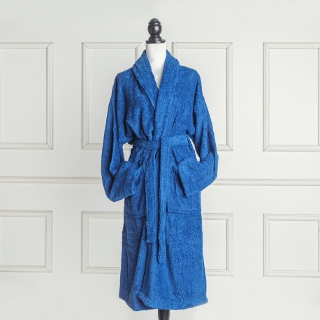 Nautical Blue Bathrobe made from 100% cotton