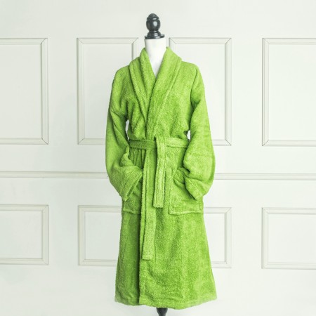 Green Pistachio Bathrobe made from 100% cotton