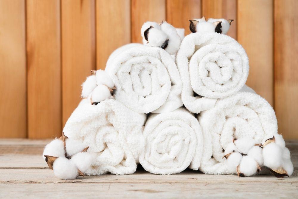 toallas de algodón 100